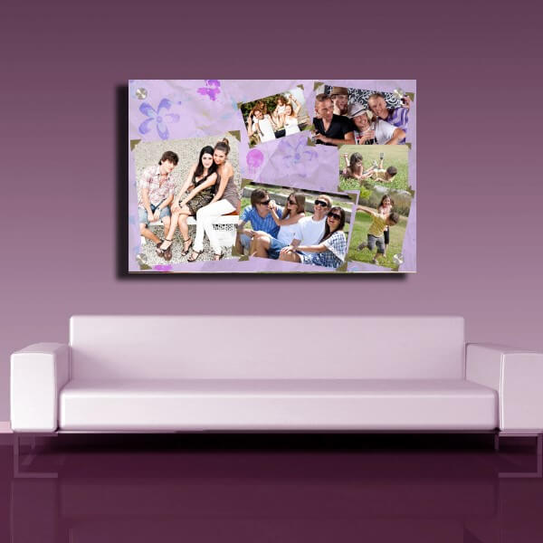 Modern collage Acrylic Wall Print Ireland 2