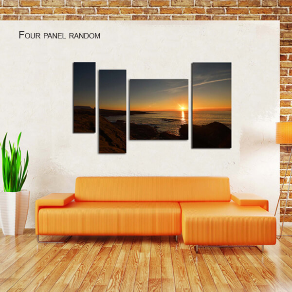 four panel random split canvas by Digicreativ