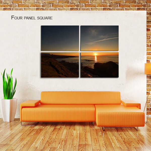 four panel square split canvas by Digicreativ