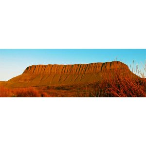Benbulben Side View Panoramic by DigiCreatiV
