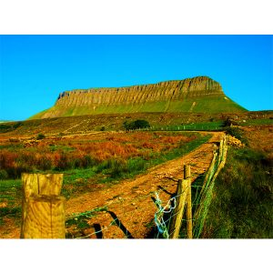 Benbulben Side View by DigiCreatiV