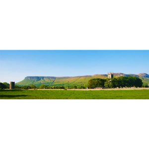 Benbulben at Drumcliff by DigiCreatiV