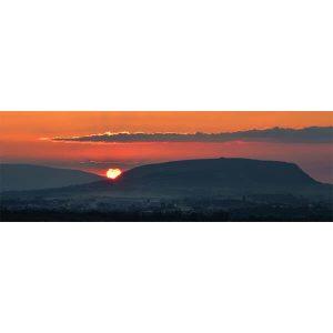 Knocknarea Sunset Panoramic by DigiCreatiV