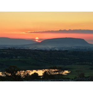 Knocknarea Sunset by DigiCreatiV