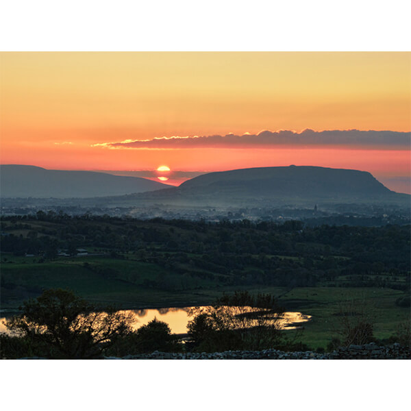 Knocknarea Sunset by DigiCreatiV