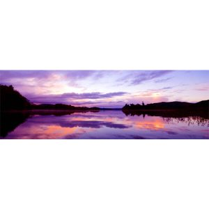 Lough Gill Sunset Panoramic by DigiCreatiV