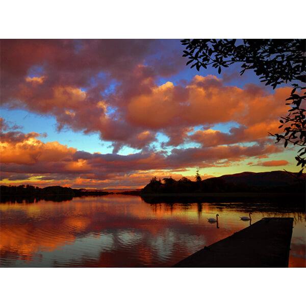 Lough Gill Sunset by DigiCreatiV