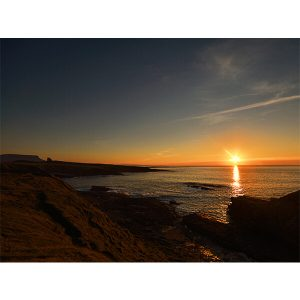 Sunset at Mullaghmore by DigiCreatiV