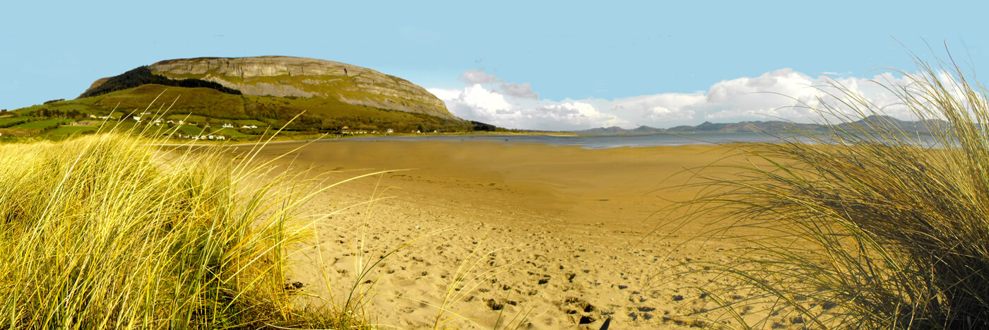 culleenamore beach sligo panoramic