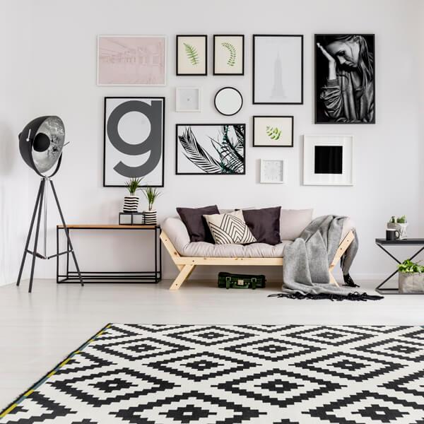 giclee print arrangement