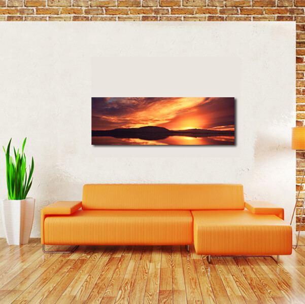 knocknarea sunset rosses point above couch